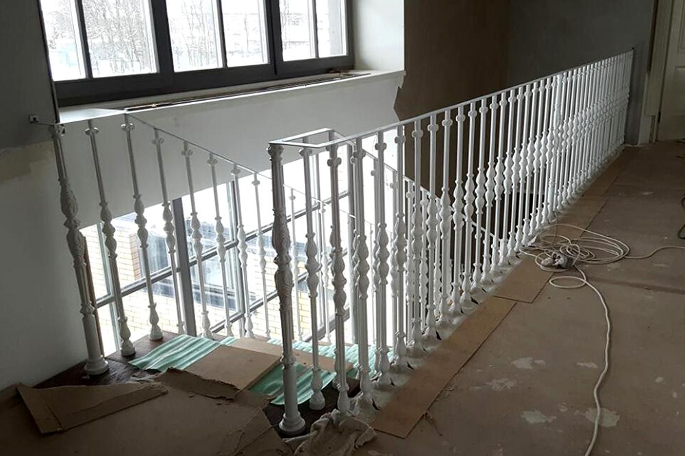 Производство столбов из чугуна