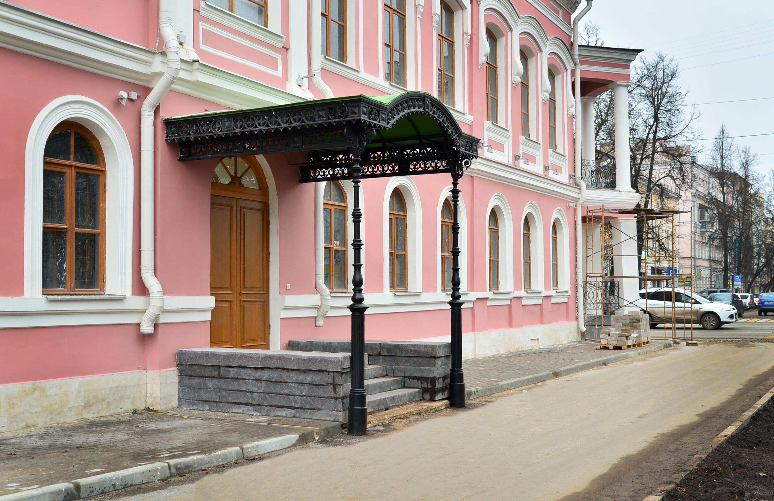 Художественное литье в Москве